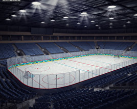 3D model of Hockey Arena