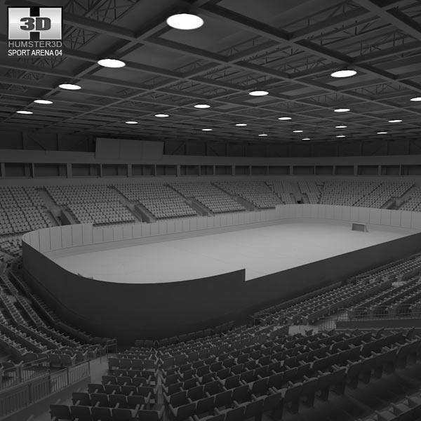 Hockey Arena 3d model