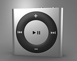 3D model of Apple iPod shuffle
