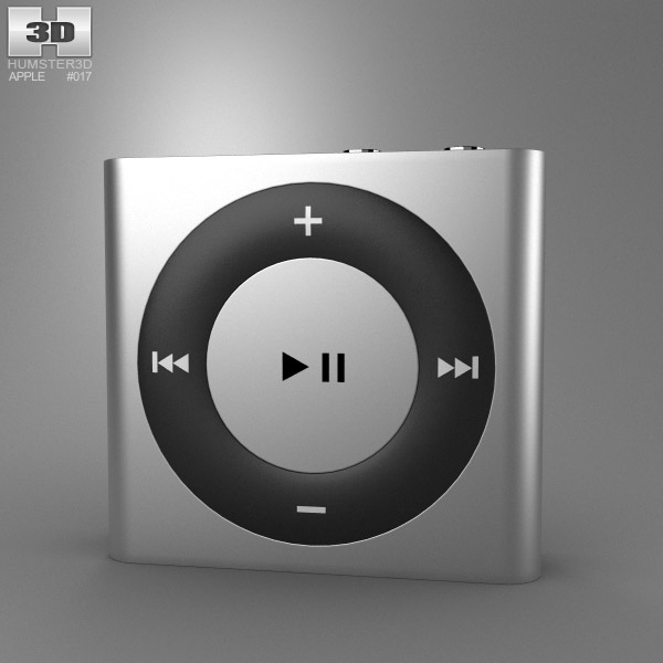 Apple iPod shuffle 3d model