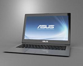 3D model of Asus Zenbook Prime UX31A