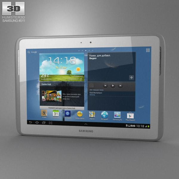 Samsung Galaxy Note 10.1 Modelo 3d