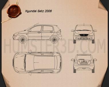 Hyundai Getz 2008 Blueprint