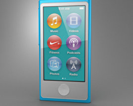 3D model of Apple iPod nano 5th generation
