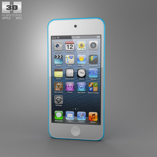 Apple iPod Touch 5th generation 3D model