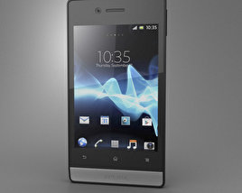 3D model of Sony Xperia Miro