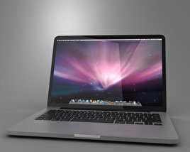 3D model of MacBook Pro Retina display 13 inch