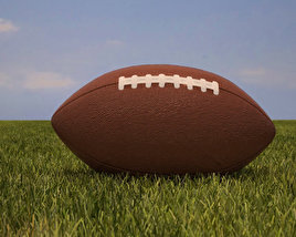 3D model of American Football Ball