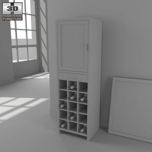 Wine Cabinet 3d model