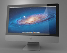 3D model of Apple iMac 21.5 2013
