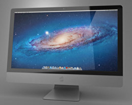 3D model of Apple iMac 27 2013