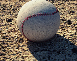 3D model of Baseball Ball