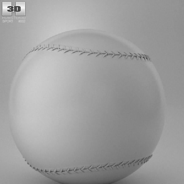 Baseball Ball 3d model