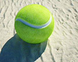 3D model of Tennis Ball