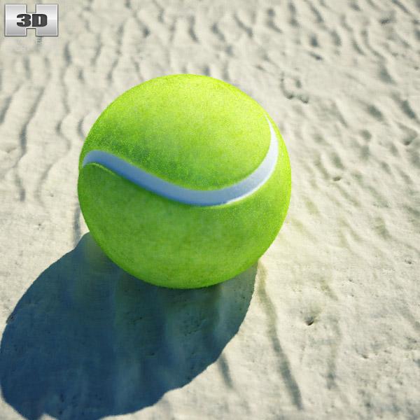 3D model of Tennis Ball