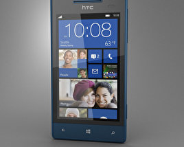 3D model of HTC Windows Phone 8S