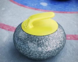 3D model of Curling Stone