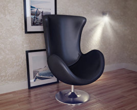 3D model of Occasional Chair – Andomeda Chair