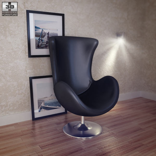 Occasional Chair - Andomeda Chair 3d model