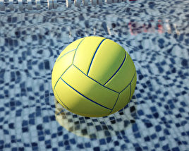 3D model of Water Polo Ball