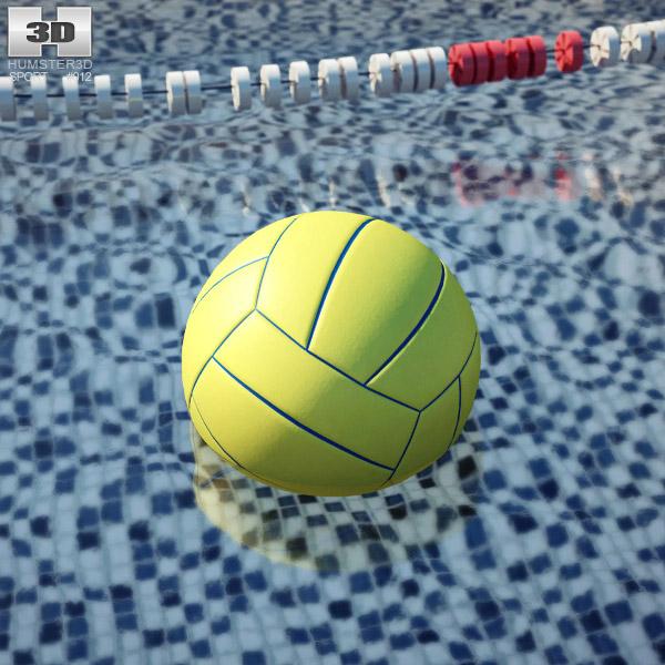 Water Polo Ball 3d model