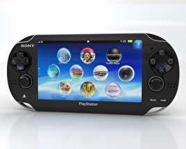 3D model of Sony PlayStation Vita
