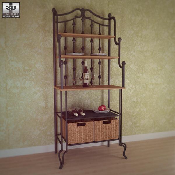 Saint Pierre Bakers Rack 3D model