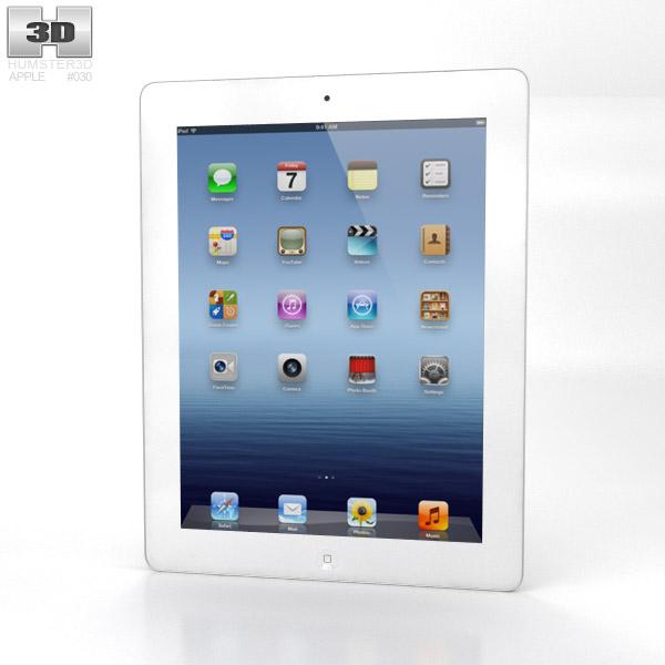 Apple iPad 4 WiFi 3d model