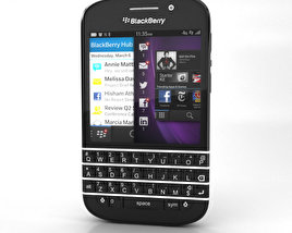 3D model of BlackBerry Q10