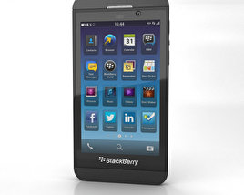 3D model of BlackBerry Z10