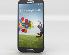 3D model of Samsung Galaxy S4