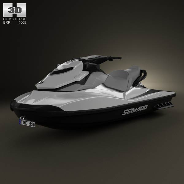 3D model of BRP Sea-Doo GTI SE 130/155 2012