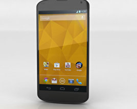 3D model of Google Nexus 4 Black
