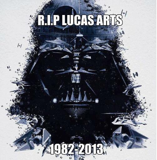 RIP LucasArts 1982-2013