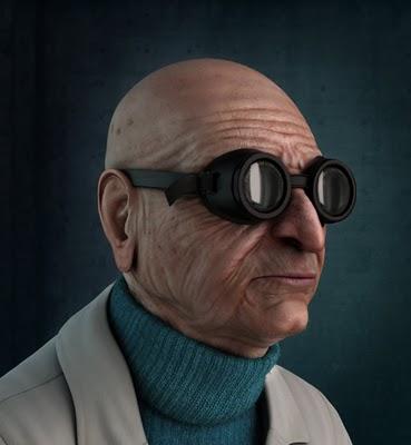 Professor Farnsworth by Carlos Lopez