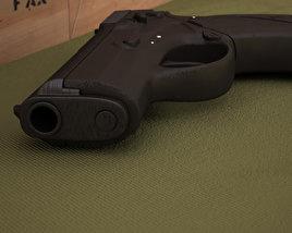 3D model of Beretta 9000