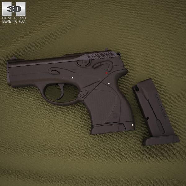 Beretta 9000 3d model