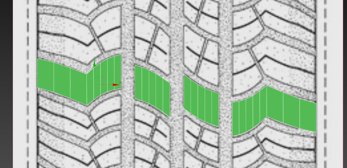 creation of a tire in 3ds max 6