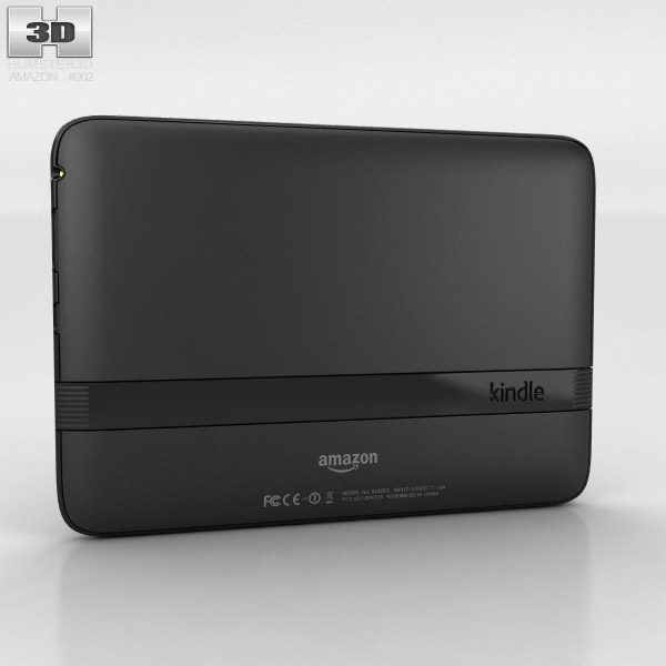 Amazon Kindle Fire HD 7 inches 3d model