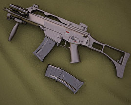 3D model of Heckler & Koch G36C