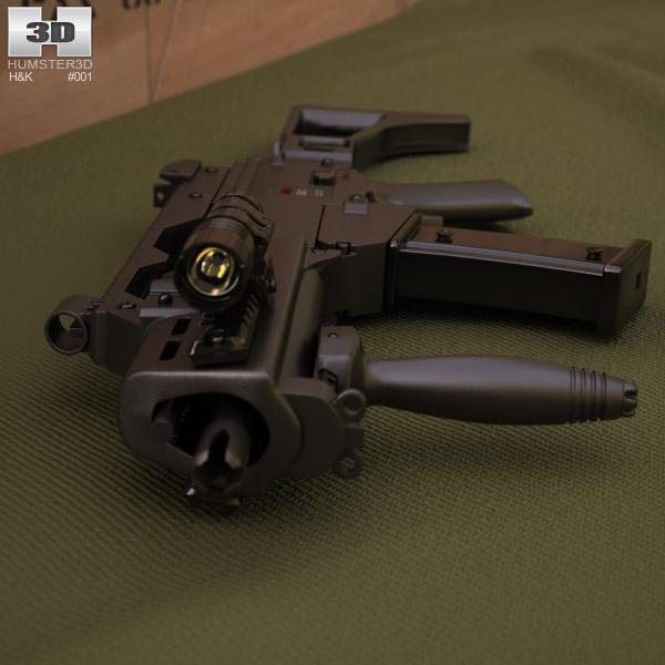 Heckler & Koch G36C 3d model