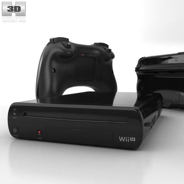 Nintendo Wii U 3d model