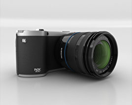 3D model of Samsung NX 300