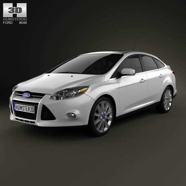 Ford Focus Sedan Titanium 2012