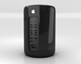 3D model of Apple Mac Pro 2013