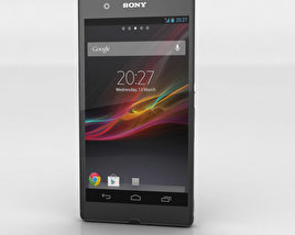 3D model of Sony Xperia Z