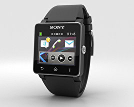 3D model of Sony Smartwatch 2