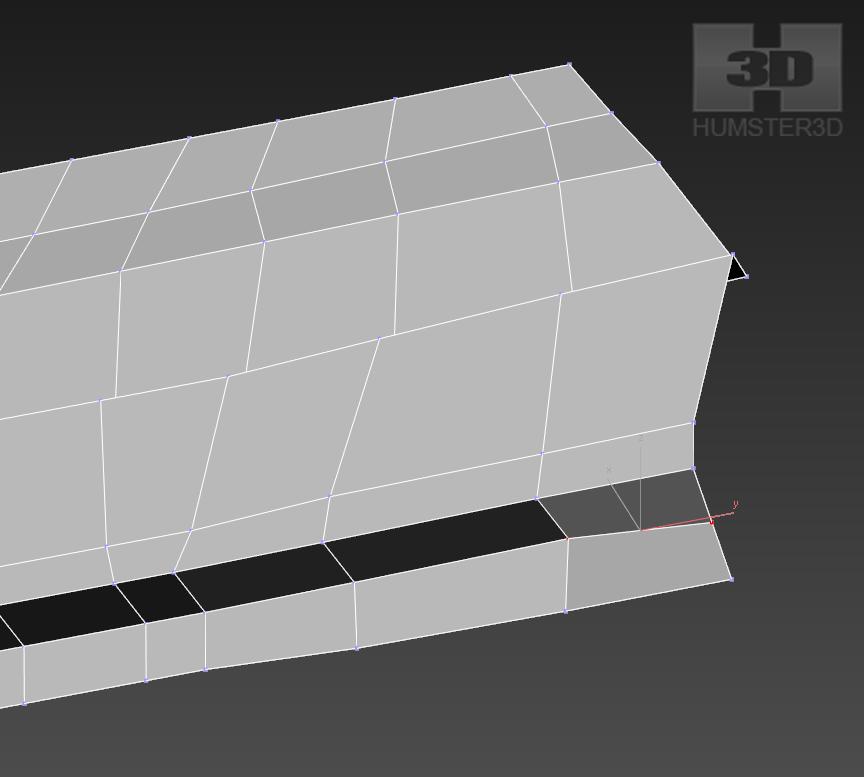 Lancia Rally Car 3d modeling tutorial 17