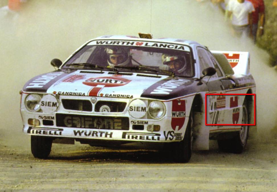 Lancia Rally Car 3d modeling tutorial 18
