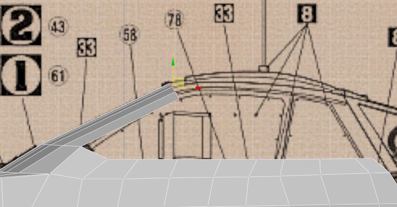 Lancia Rally Car 3d modeling tutorial 26